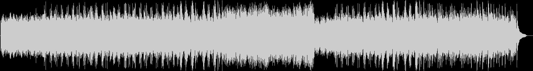 ピアノ独奏によるヒーリング音楽の未再生の波形