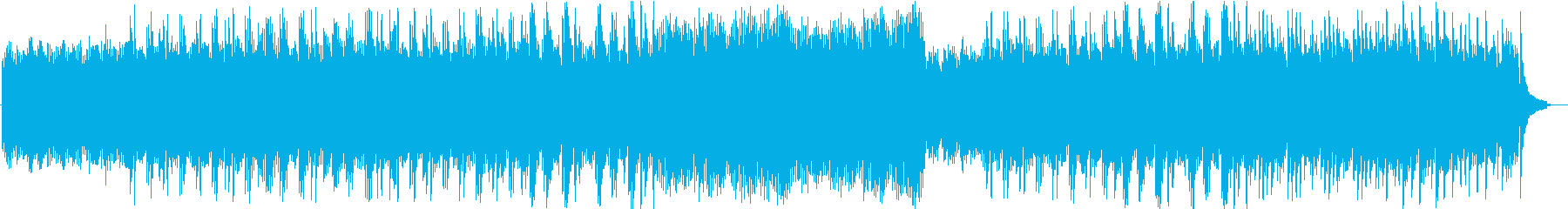 ピアノ独奏によるヒーリング音楽の再生済みの波形
