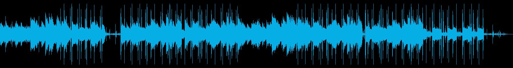幻想的なエレピのチル・ヒップホップの再生済みの波形