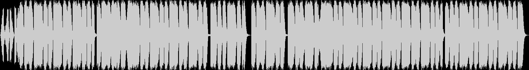 R&B系トラップビートの未再生の波形