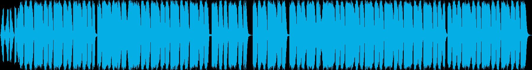 R&B系トラップビートの再生済みの波形