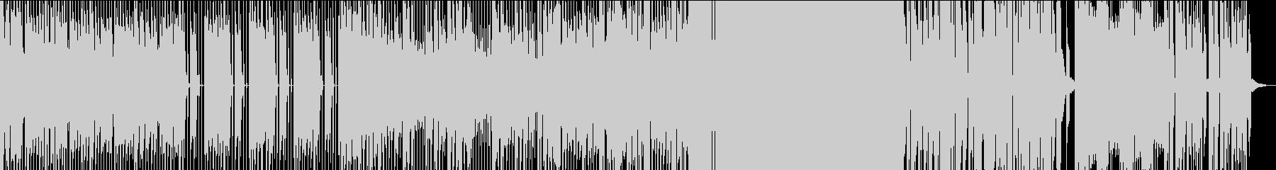 洋楽 EDM  ダーク ボイスリードの未再生の波形