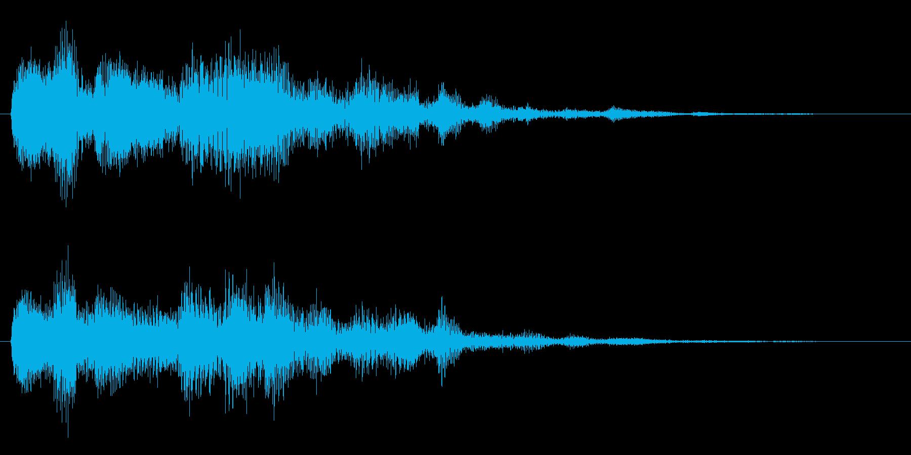 サウンドロゴやゲーム・映像などの再生済みの波形
