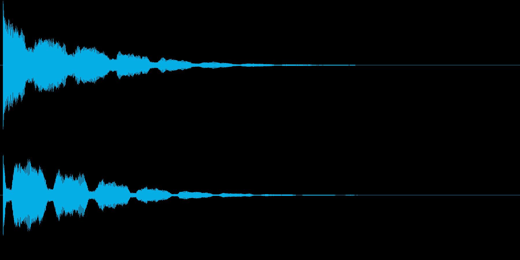 ジャーン(アンビエンス)の再生済みの波形