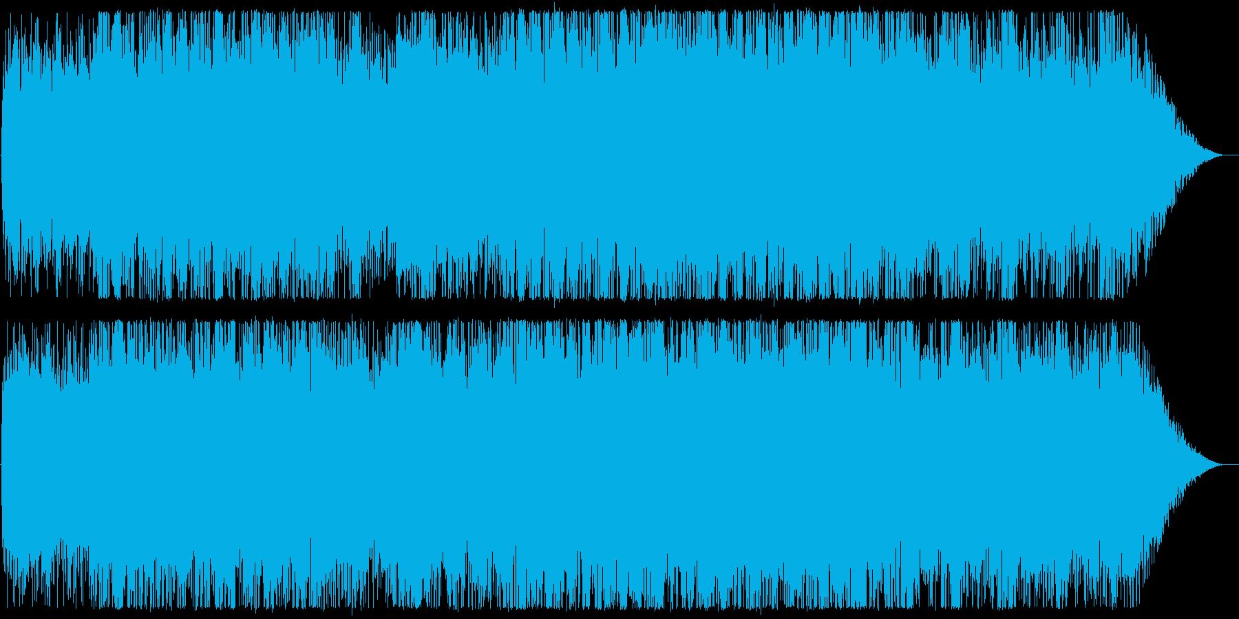 Chill/Healing系シリーズ曲6の再生済みの波形