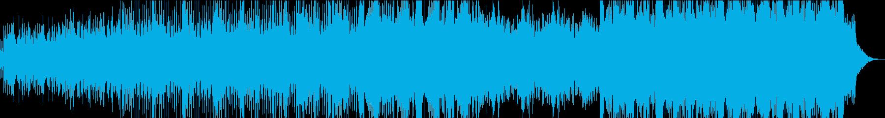 ダークでテンションの上がる曲の再生済みの波形