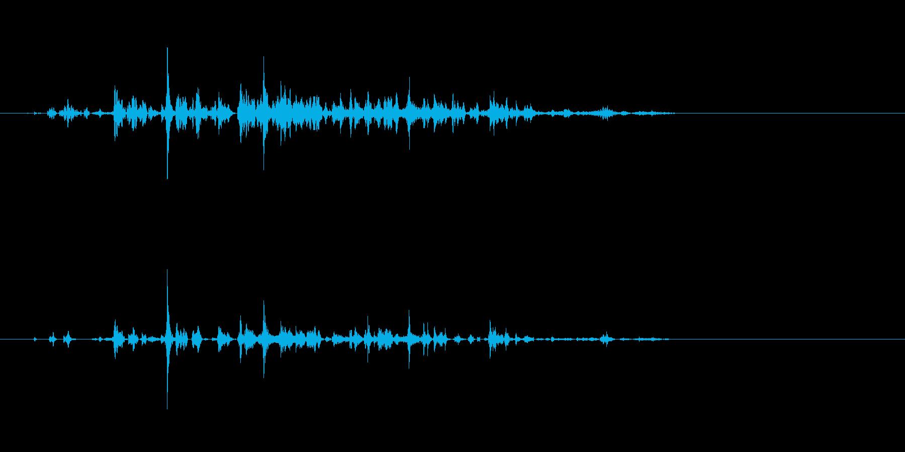 シンセ;液体;深刻なコンピューター...の再生済みの波形