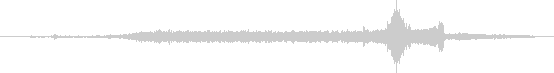 空母:Int:カタパルトルーム:打...の未再生の波形