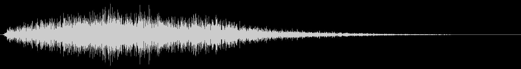 劇的な音楽遷移ドローンの未再生の波形