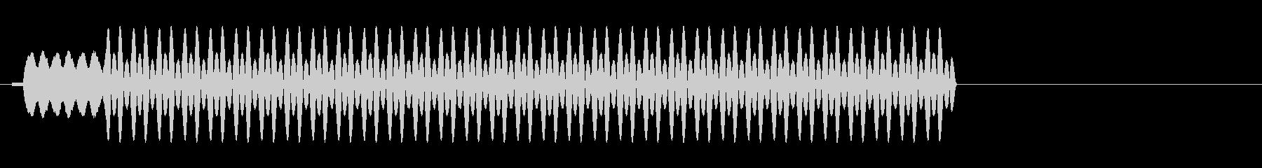 パチンコ用効果音の未再生の波形