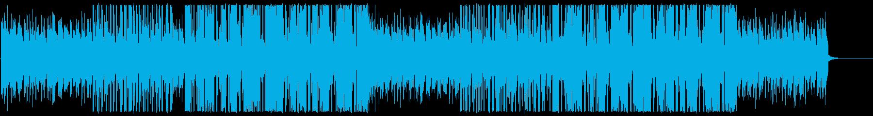 リラクシングなヒップホップの再生済みの波形