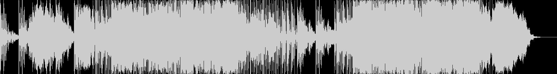 エレクトロニック 技術的な 静か ...の未再生の波形