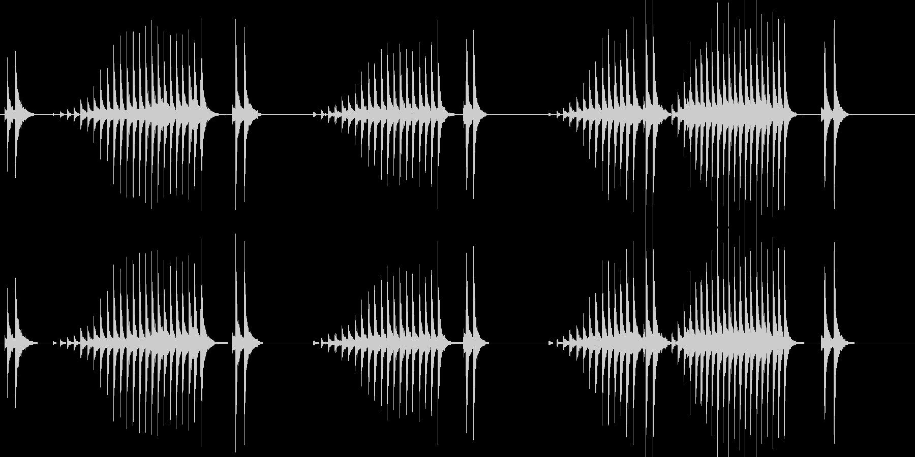 大太鼓19波音歌舞伎情景描写和風和太鼓江の未再生の波形