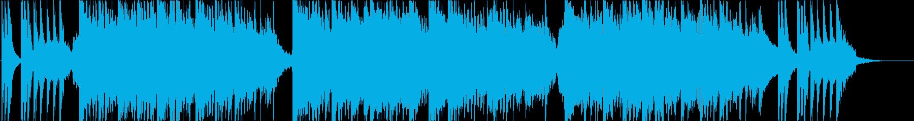 エキゾチックなテーマ曲の再生済みの波形