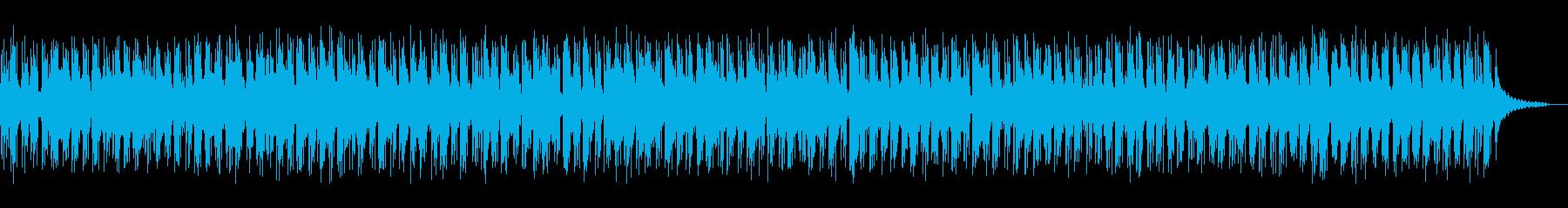 サックス中心のリラックスチルアウトR&Bの再生済みの波形