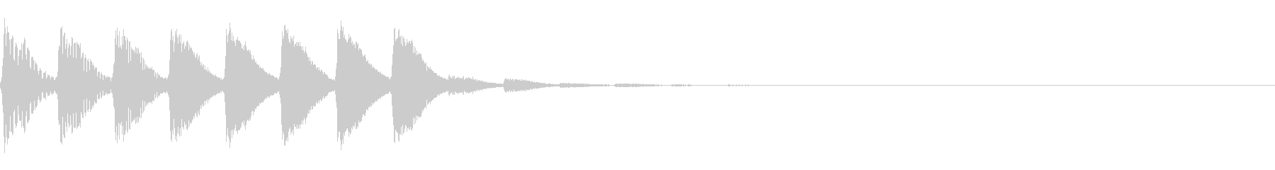 パラララ(ファミコン/テクノ/幻想的#2の未再生の波形