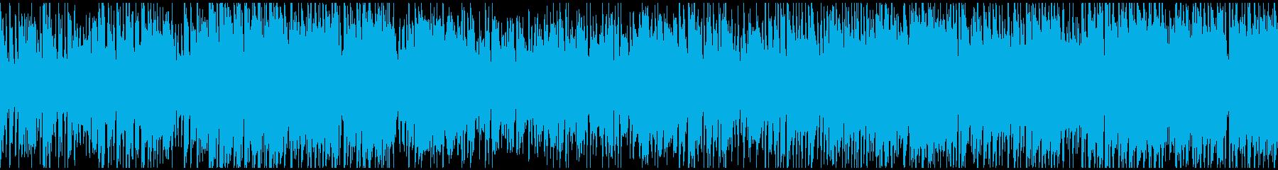ワクワク楽しいジャズファンク!※ループ版の再生済みの波形