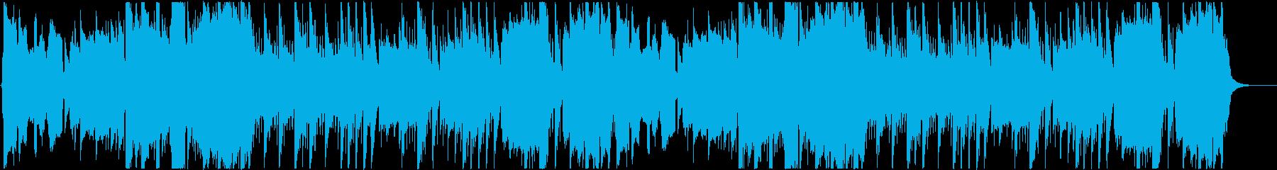 バグパイプ・田舎っぽいBGMの再生済みの波形