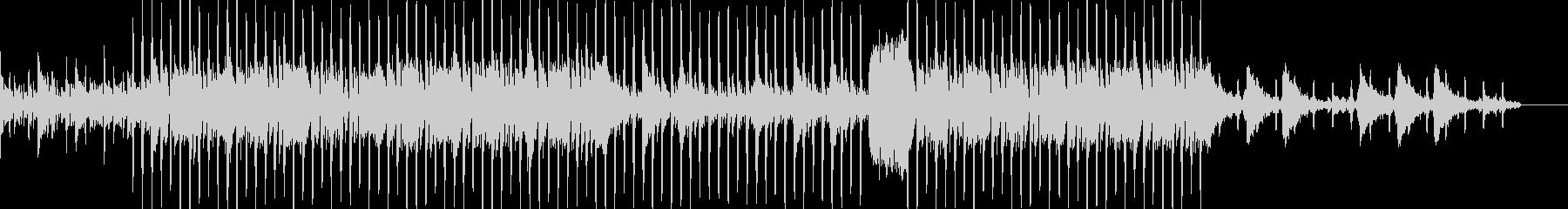 プレゼンPVのオープニング風楽曲の未再生の波形
