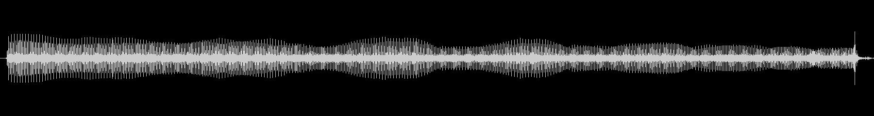 電動カッター:スタート、カットヘア...の未再生の波形