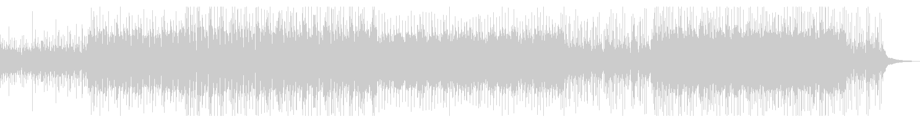 (SE控えめ)切ない系のトロピカルハウスの未再生の波形