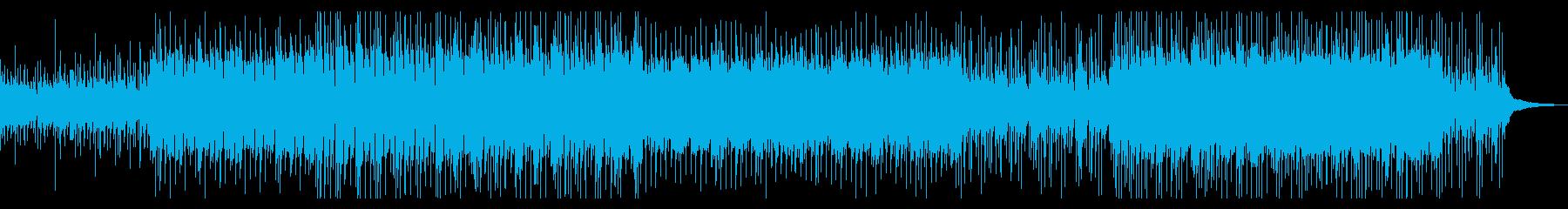 (SE控えめ)切ない系のトロピカルハウスの再生済みの波形