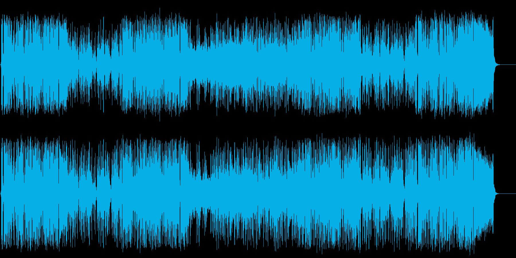 アウトドア いきいき テーマ 元気の再生済みの波形