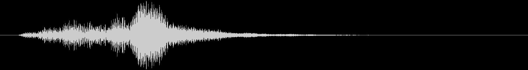 怪しいベルの音1の未再生の波形