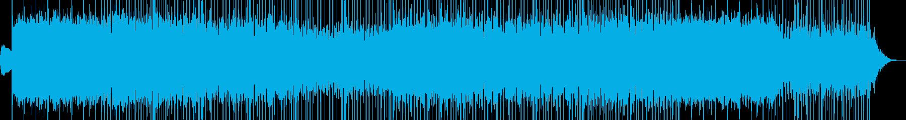 優しくて明るいウェディング系のBGMの再生済みの波形