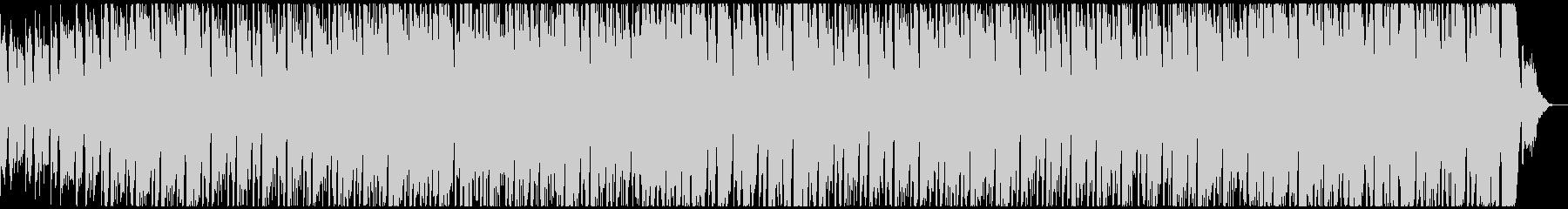 切ないコード進行にシンセとギターが乗るの未再生の波形