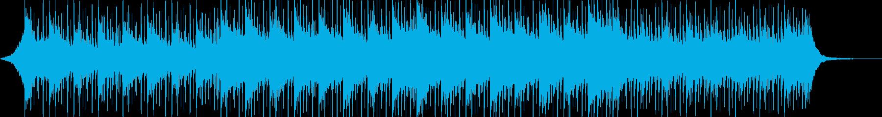 温かい企業VPの再生済みの波形