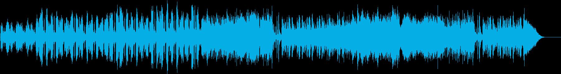 ほのぼの素朴で可愛い前向きな日常BGMの再生済みの波形