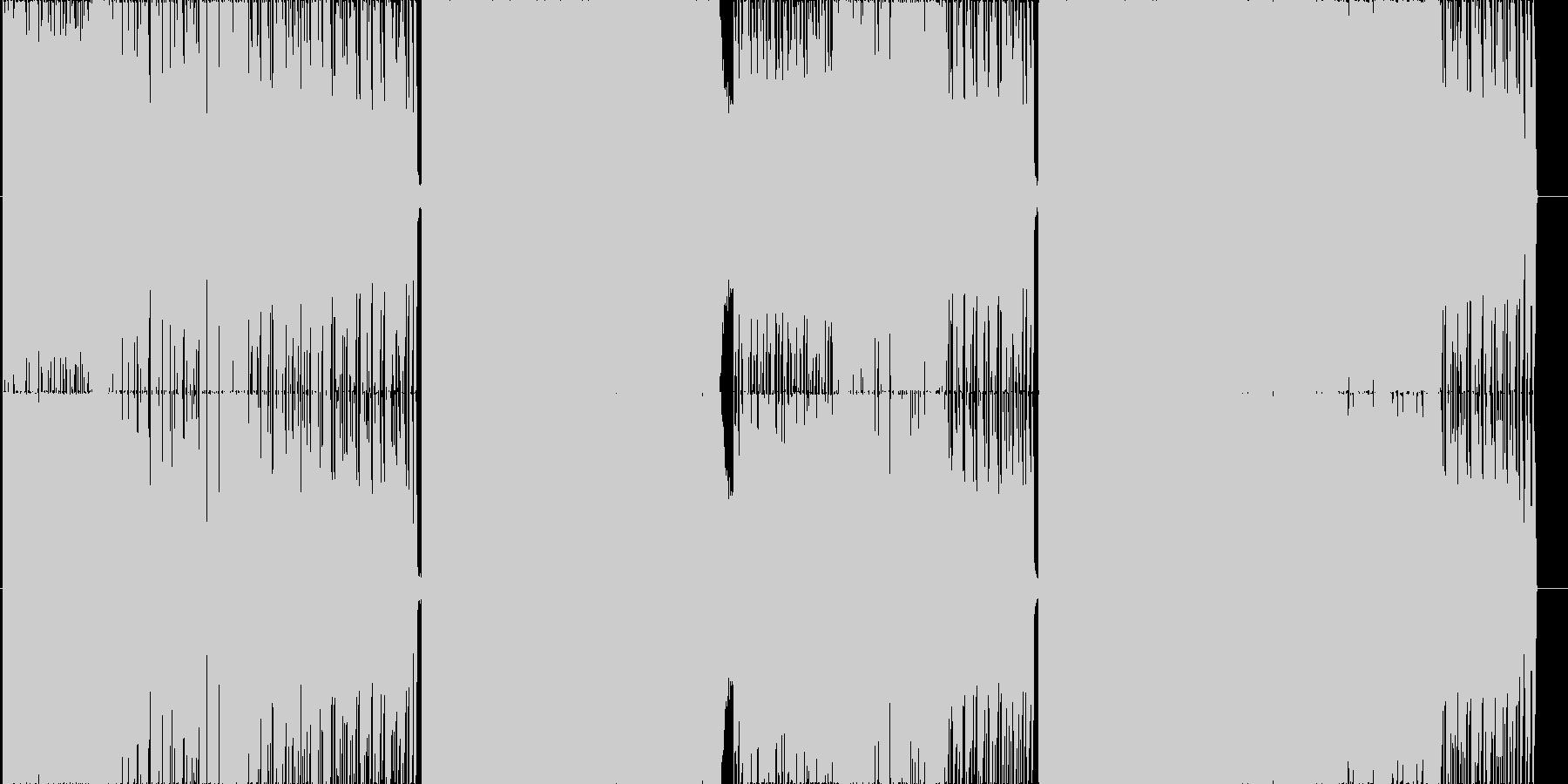 ミソカの未再生の波形