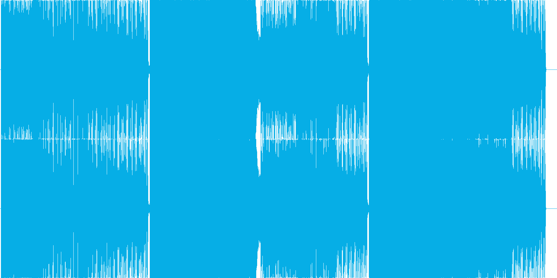 ミソカの再生済みの波形