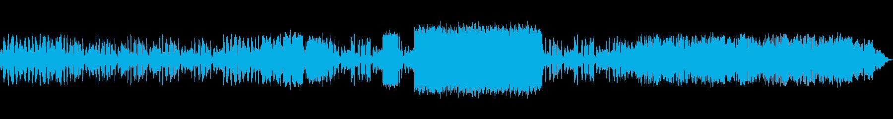 SF・宇宙的を連想させるBGMの再生済みの波形