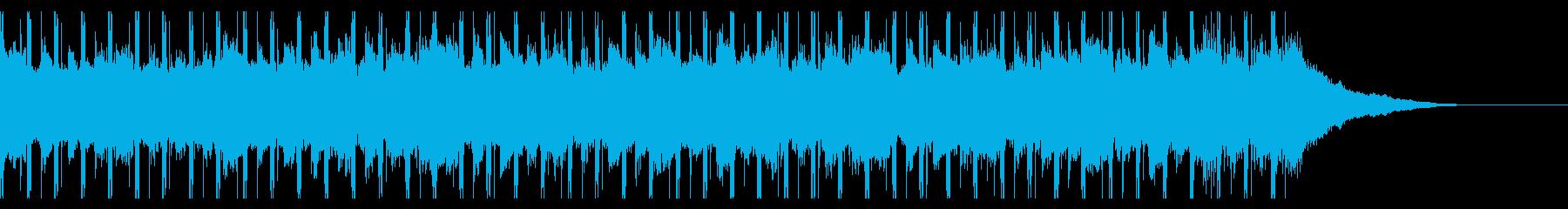 チュートリアル(30秒)の再生済みの波形