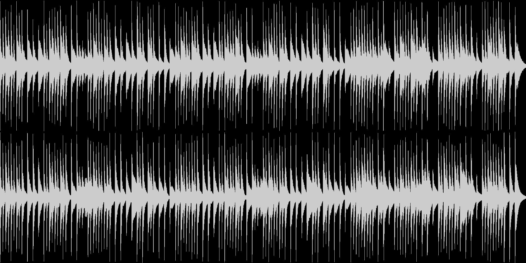 木琴が可愛い名曲ガヴォット(ループの未再生の波形