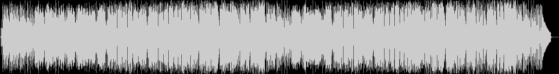 リラックスできるピアノのボサノヴァ曲の未再生の波形