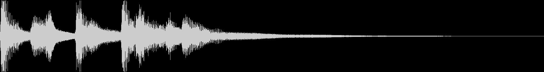 ウクレレ・鉄琴・ジングル・かわいいの未再生の波形