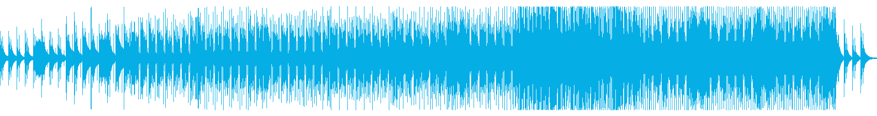 物語の始まりの想起ジャズ・フュージョンの再生済みの波形