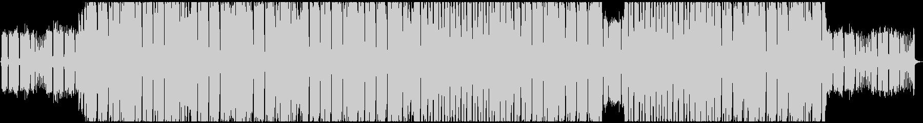 エネルギッシュなギターインストの未再生の波形
