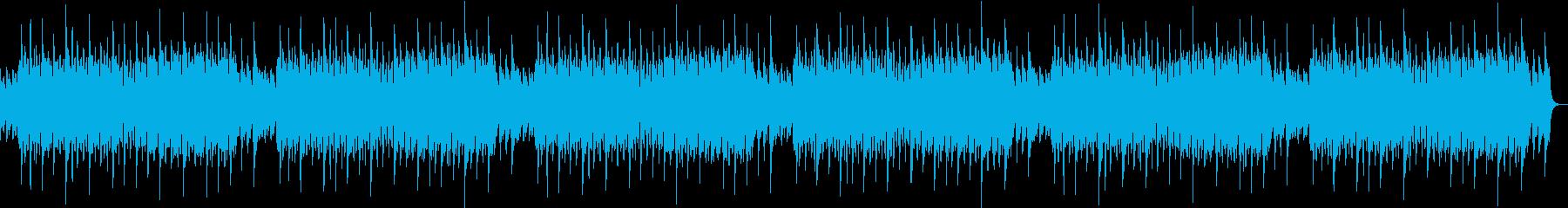 チルアウト、lofihiphopの再生済みの波形