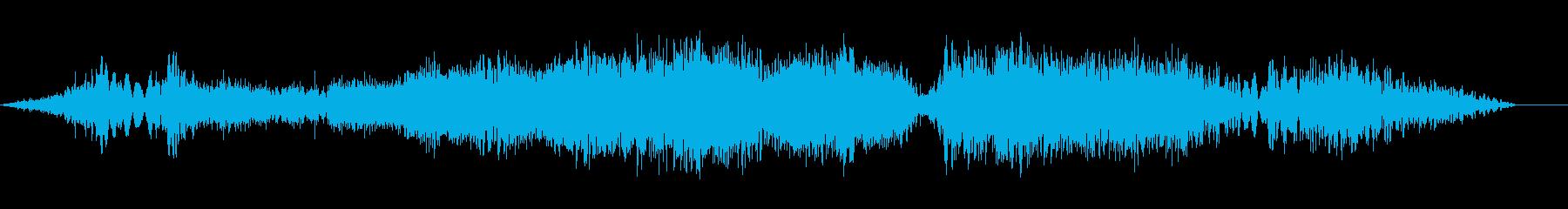 DJ REVERSE INHALE...の再生済みの波形