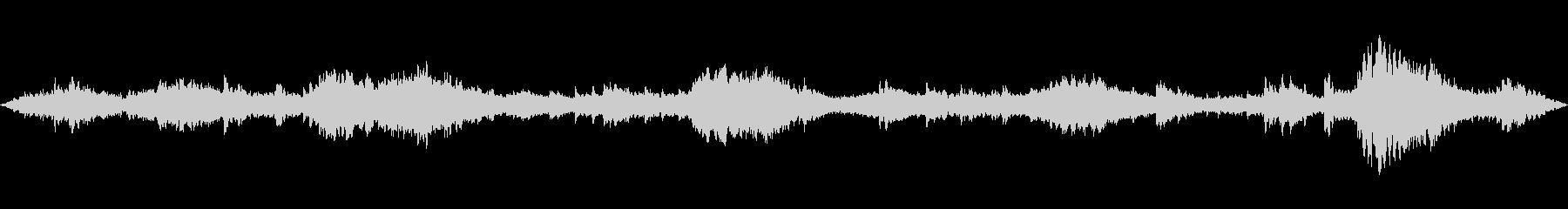ピアノフォルテの雰囲気の未再生の波形