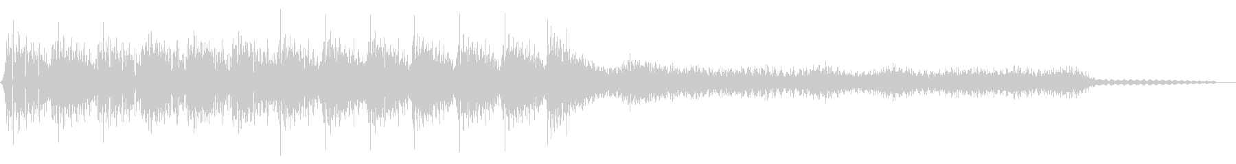 ピコピコ音のゲームクリア ステージクリアの未再生の波形