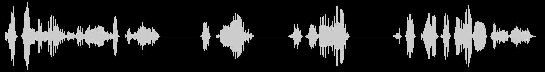 (シリアス)許可のない写真撮影、録音、…の未再生の波形