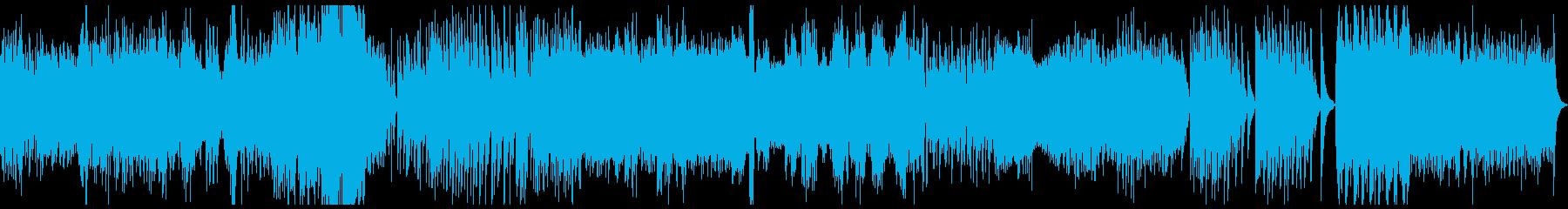 Ravel ラヴェル 水の戯れの再生済みの波形