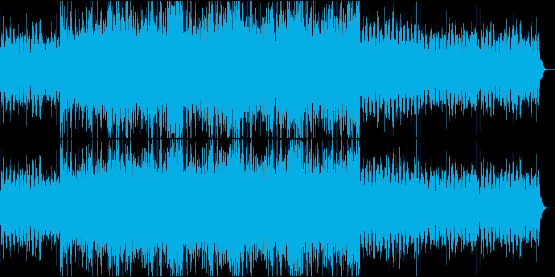 近未来を感じさせるシンセポップサウンドの再生済みの波形