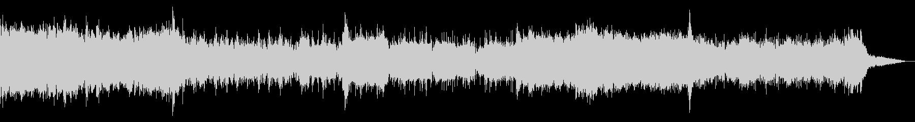 グリッジの効いたシネマティックIDMの未再生の波形