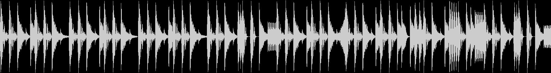 ノリの良いブレークビーツ_003の未再生の波形